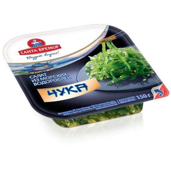 Салат из морских водорослей Чука САНТА-БРЕМОР, 150 г