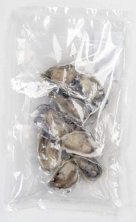 Устрицы на1/2, 500 гр., свежемороженные